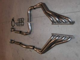 Stainless works 06'-10' Jeep SRT8 Headers 1.875 Primaries No cats