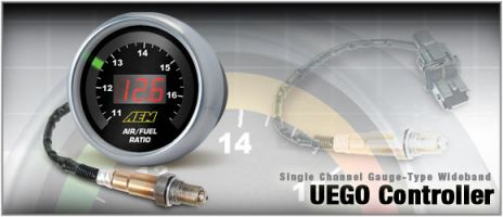 AEM Six-In-One Gauge-Type UEGO Controller