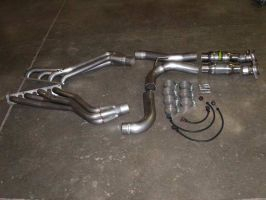 Stainless works 06'-10' Jeep SRT8 Headers 1.750 Primaries w/cats