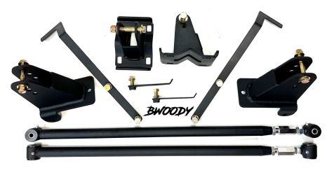 BWoody F-150 Traction Bar Kit