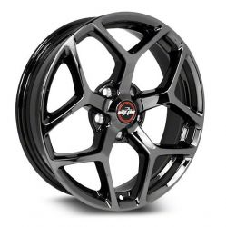 Race Star 95 Recluse 18x10.5 Black Chrome Wheels (Set of 2)