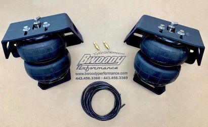 BWoody 18+ F-150 Lowered/ Flipped Axel - Air Bag Kit