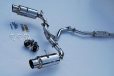 Invidia N1 Catback Exhaust, SS Tips FRS / BRZ