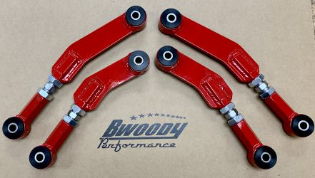 BWoody LX Rear Upper Control Arm Set - Fully Adjustable