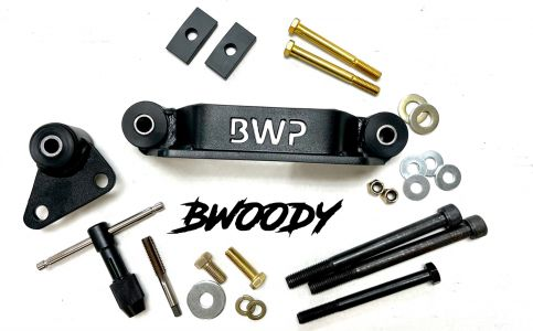 BWoody Trackhawk Front & Rear Differential Brace Set