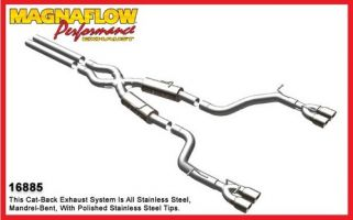 Magnaflow 16885 Stainless Steel Cat-Back Exhaust System