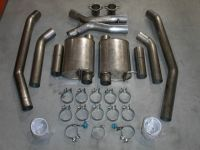 Stainless works Cadillac CTS-V Exhaust and Cats For SW Headers