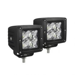 Westin Compact LED -4 5W Cree 3 inch x 3 inch (Set of 2) - Black